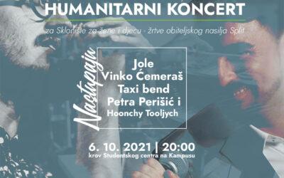 Humanitarni koncert za Sklonište za djecu i odrasle žrtve nasilja u obitelji